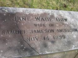 Jane Wade <I>Dow</I> Anderson