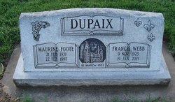 Maurine <I>Foote</I> Dupaix