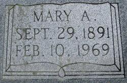 Mary Alice <I>Maness</I> Hussey