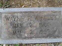 Wayne P Whaley