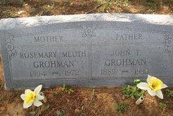 Rosemary <I>Meuth</I> Grohman