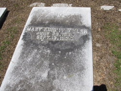 Mary <I>Knight</I> Tyler