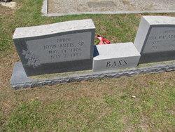 John Artis Bass, Sr