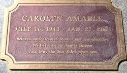 Carolyn Barbara Amable