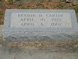 Benion D Carter