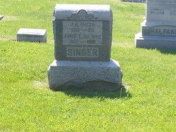 "Anna Eliza ""Annie"" <I>Mounts</I> Caster"