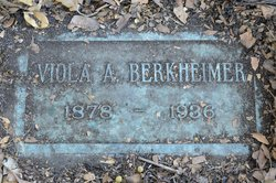 Viola Ann <I>Hayes</I> Berkheimer