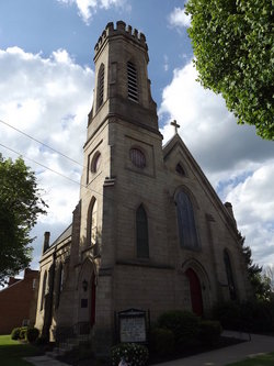 Christ Episcopal Churchyard