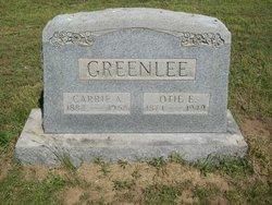 Carrie Alice <I>Whittington</I> Greenlee