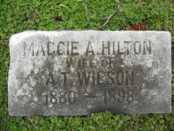 Maggie A <I>Hilton</I> Wilson