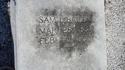 "Samuel Lee ""Sam"" Bailes"