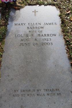 Mary Ellen <I>James</I> Barrow