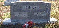 Marie <I>Lain</I> Gray