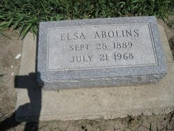 Elsa K Abolins