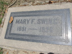 "Mary Frances ""Fanny"" <I>Garner</I> Swing"