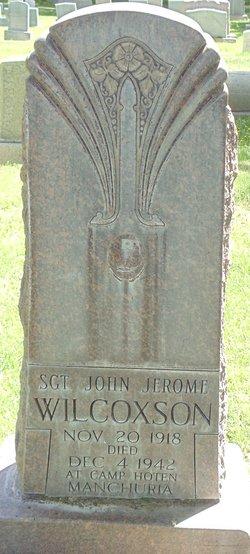 Sgt John Jerome Wilcoxson