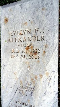 Evelyn Manning <I>Hillhouse</I> Alexander