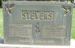Augusta Helen <I>Gordon</I> Stevens