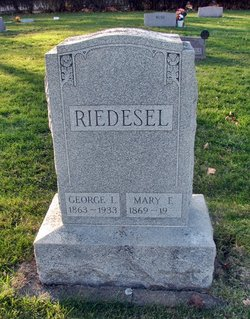 Mary Elizabeth <I>Wilder</I> Riedesel