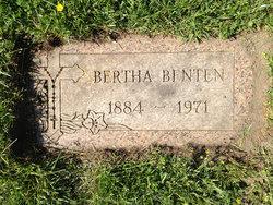Bertha <I>Zimmerman</I> Benten
