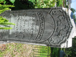 Eliza Prudence <I>Pujo</I> Hortig
