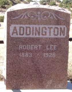 Robert Lee Addington