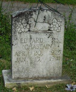 Edward R Chastain
