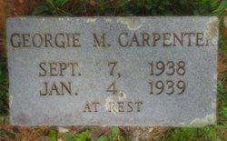 "Georgia M ""Georgie"" Carpenter"