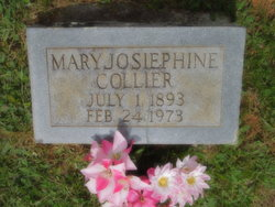 Mary Josiephine <I>Anderson</I> Collier