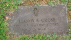 "Rev Lloyd E ""Jack"" Cruse"