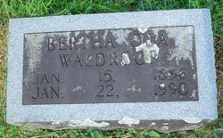 Bertha Ora Waldroop