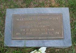 Marshall G Nichols