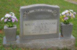 Maude <I>Cunningham</I> Dills