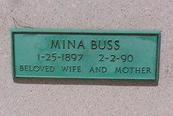 Mina <I>Wagner</I> Buss