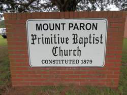 Mount Paron Primitive Baptist Church Cemetery