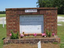Mount Nebo Missionary Baptist Church Cemetery