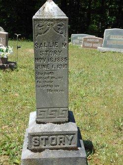 Sallie M <I>Carter</I> Story
