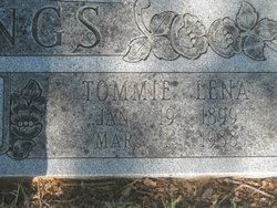 Tommie Lena <I>Willhite</I> Gettings
