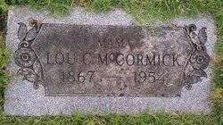 "Louisa Catherine ""Lou"" <I>Aymett</I> McCormick"