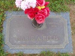 Marie <I>Anderson</I> Ellis