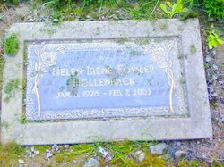 Helen Irene <I>Fowler</I> Hollenback