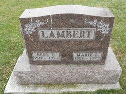 Marie L <I>Wickman</I> Lambert