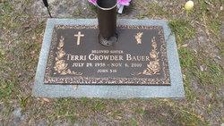 Terri <I>Crowder</I> Bauer