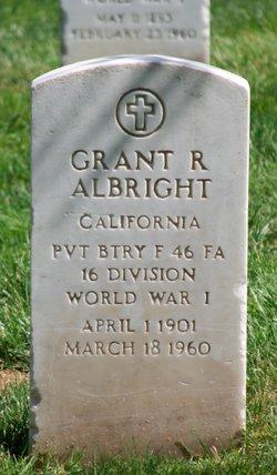 Grant R Albright
