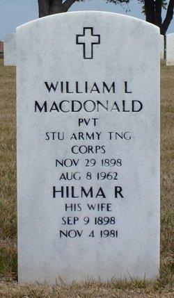Hilma R MacDonald