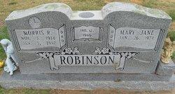Mary Jane <I>Clute</I> Robinson