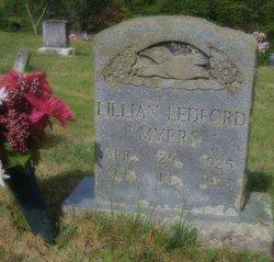 Lillian <I>Ledford</I> Myers