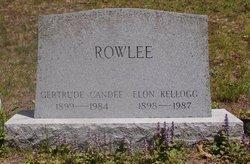Gertrude <I>Candee</I> Rowlee
