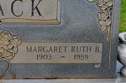 Margaret Ruth <I>Baker</I> Black