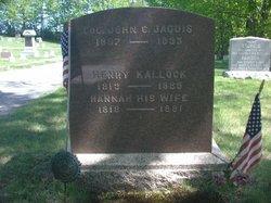 Hannah S <I>Cobb</I> Kallock